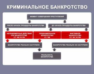 Криминальное банкротство УК РФ