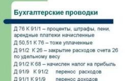 Бухгалтерская проводка д02 к91 означает