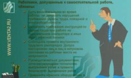 Инструкция по охране труда для работников офиса