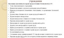 Обязательные приказы по охране труда в организации