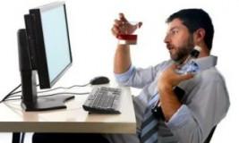 Пьяный на работе как оформить?