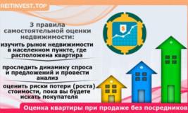Оценка жилья перед продажей