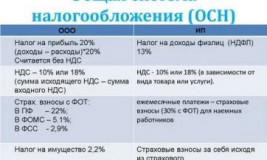 Что такое общая система налогообложения для ООО?