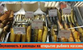 Рыбный бизнес: как открыть рыбный магазин. Бизнес-план рыбного магазина: документы и расчет затрат