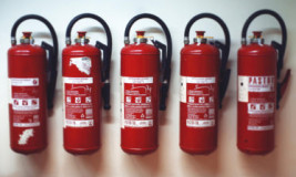 Нумерация огнетушителей на предприятии