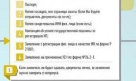 Какие документы нужны для оформления ИП?