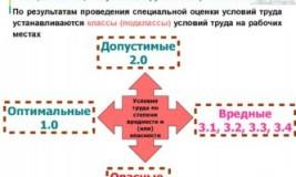 Что означает специальная оценка условий труда?