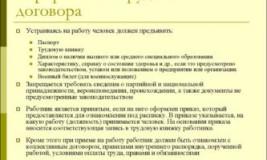 Оформление по договору или ТК РФ