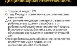 Штрафы сотрудникам Трудовой Кодекс