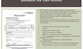 Письмо об обучении сотрудников
